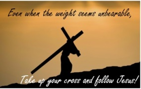 Blog - Take Up Your Cross